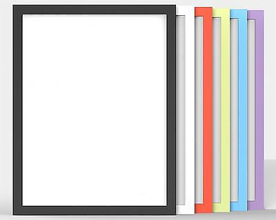 Premium Quality 100% Wooden Frames Photo Poster Large Frame 6 Colours