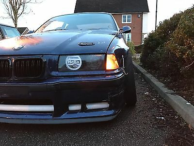 HELLA HEADLIGHT STICKER / COVER E36 BMW Drift Skid Stance Look