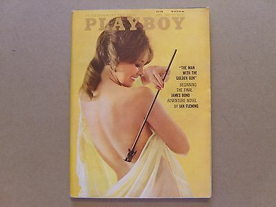 VINTAGE PLAYBOY MAGAZINE - APRIL 1965 - Volume 12 Number 4