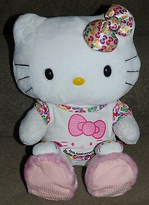 Build A Bear Hello Kitty Plush 35th Anniversary Doll Very Cute! Hard To Find!