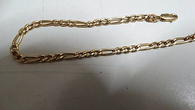Bracelet Solid 9ct 9K 375 Yellow Gold Italy