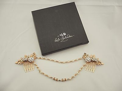 Bridal Head Piece Rose Gold