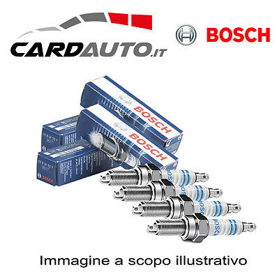 4 Candelette Bosch Mercedes Classe A (W169) 180Cdi 80Kw 2004-> Nuove 0250403008