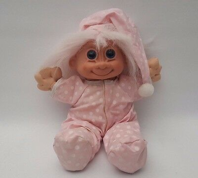 Vintage Russ Troll Doll Baby Clothes Bedtime Pyjamas 11.5""