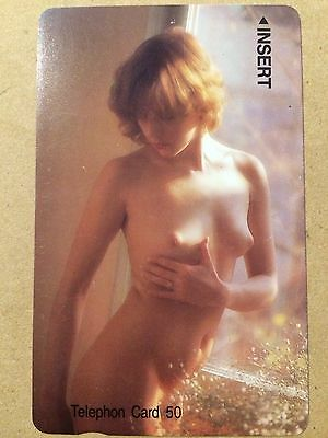 Phonecard Collectable Japanese - Naked Female