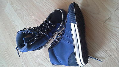 boys Next high top trainers baseball boots size 12