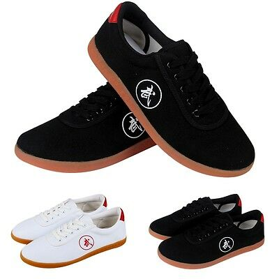 Chic Men Tai Chi Shoes Martial Arts Kungfu Sport Running Shoes Exercise Footwear