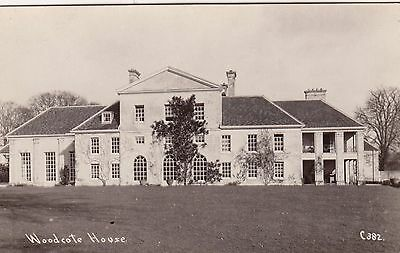 Woodcote House, Country House, Nr Wallingford, Oxfordshire. Rp, C1920.