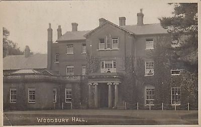 Woodbury Hall, Country House, Sandy, Bedfordshire. Rp, 1915.