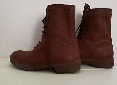 Genuine Israel Army Paratrooper Combat Boots Shoes - Euro 43 US 9.5