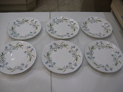Queens - Harebell Design Tea Plates