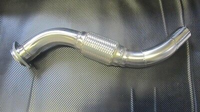 Stainless Steel Bmw E46 330D Decat Exhaust Downpipe