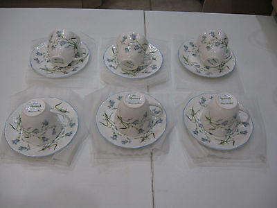Queens - Harebell Design Coffee Cups & Saucers