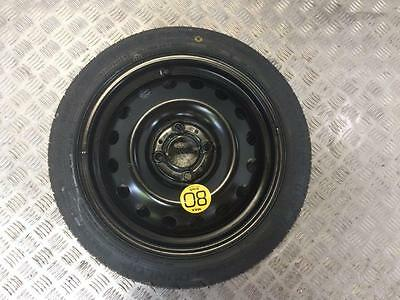 "06-13 Nissan Note 15"" Inch 4 Stud Space Saver Spare Wheel 125 70 15"