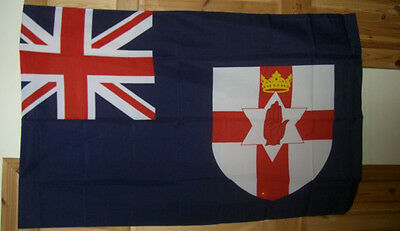 New Ulster Loyalist Flag 5X3,ycv ,36Th Ulster Division,glasgow Rangers, Poppy