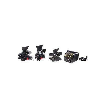 Dedolight DT4 Power Supply 3-Light Kit