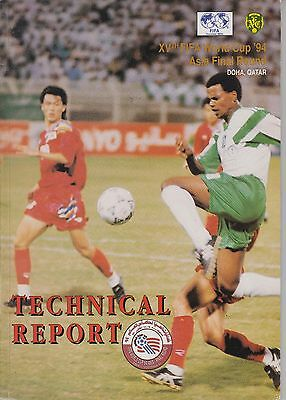 RARE Technical report FIFA World CUP 1994 Asia Final Round Qatar / Japan Korea