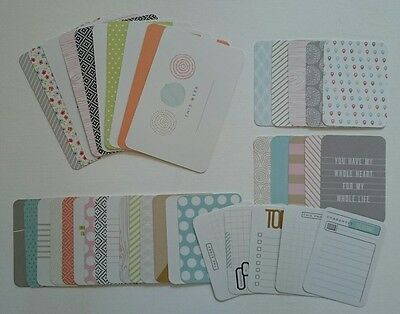 "Project Life One Little Bird ''Currently"" PARTIAL Kit Cards Becky Higgins"