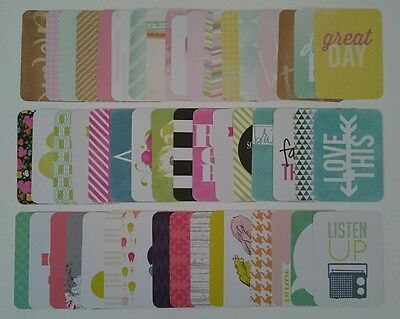 Project Life Heidi Swapp Assorted 3x4 Cards Becky Higgins