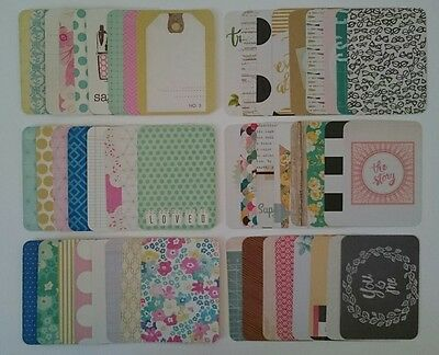 Project Life Maggie Holmes Assorted 3x4 Cards Becky Higgins