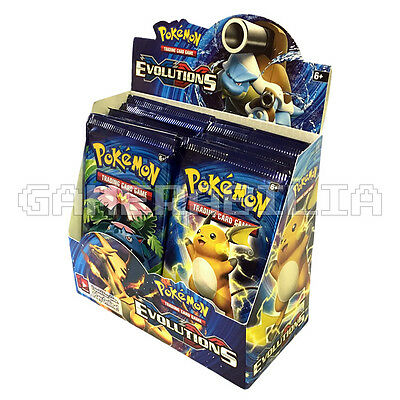 NEW Pokemon XY-12 Evolutions Sealed Booster Box (36 Packs) TCG / Trading Cards