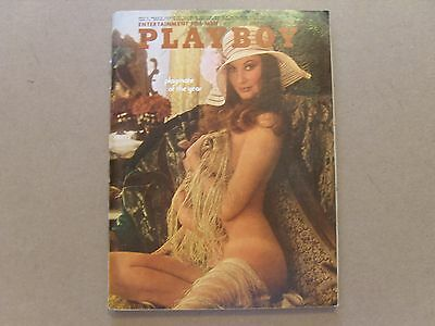 VINTAGE PLAYBOY MAGAZINE - JUNE 1973 - Volume 20 Number 6
