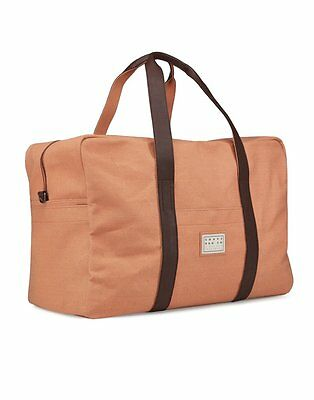 Reisetasche gross und robust - Travel Bag aus Canvas - Souve Bag - ORANGE
