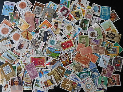 Nepal Mixture Most Different 200 Stamps Used & Unused F