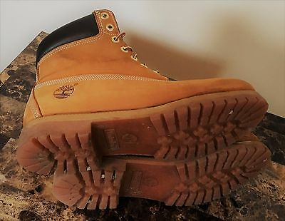 Authentic Men's Timberland boot 6 Inch Classic Premium 10061-size11
