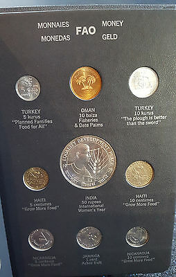 FAO money album world coins