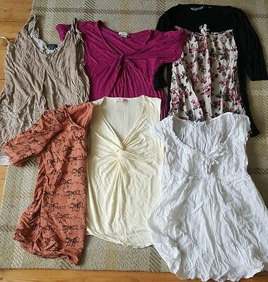 bundle of small size 8/10 maternity tops