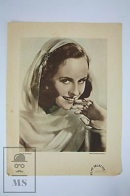 Original Promotional Image From 1940's - Actress: Paulette Goddard