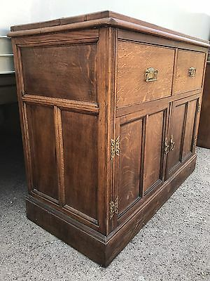 Antique Oak Sideboard Dresser
