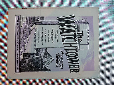 The Watchtower February 1 1954