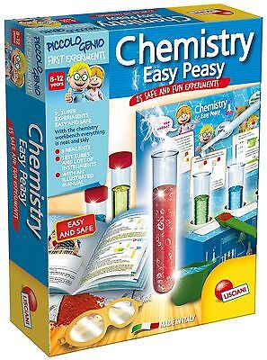 Chemistry Set for Kids 25 Experiments Piccolo Genio Super Easy Educational Toy