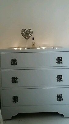 Vintage, painted chest of drawers