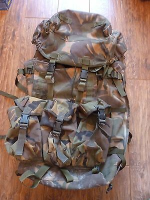 British Army Rucksack / Bergen Long Convoluted Dpm C/w Frame - 2005