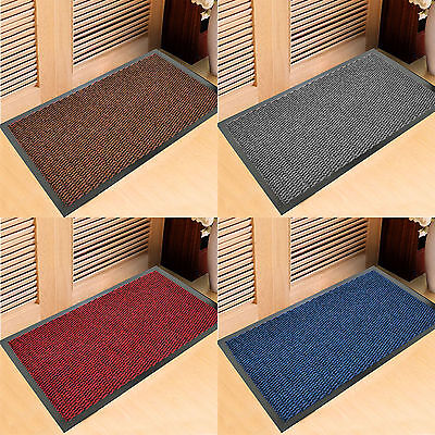 New Heavy Duty Non Slip Rubber Barrier Mat Large & Small Rugs Hall Kitchen