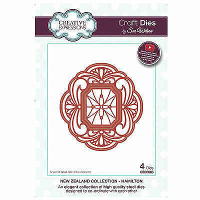 Craft Die CED8206 Sue Wilson New Zealand Collection - Hamilton