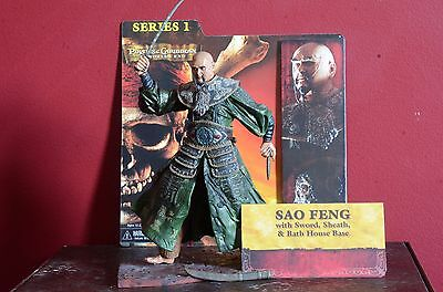 NECA Pirates of the Caribbean At World's End Sao Feng Action Figure USED by NECA
