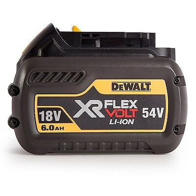 Batteria Dewalt 54v 6Ah litio FLEXVOLT DCB546