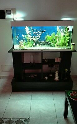 acquario juwel rio 180 + accessori + mobiletto