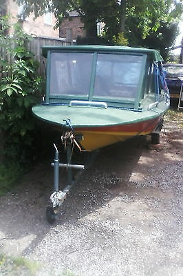 12ft boat on trailer