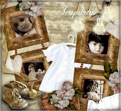 CUSTOM Reborn Baby Old Time Memories Ebay Compliant Auction Template Listing