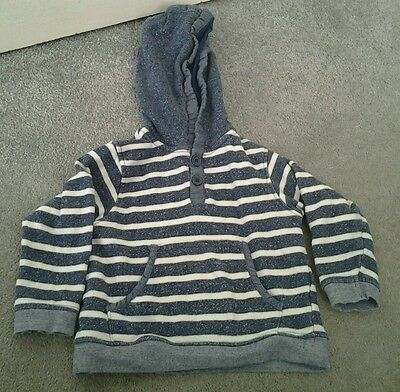 Boys hooded jumper from Matalan age 18-24 months