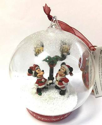 Disney Mickey and Minnie Light-up Christmas Bauble