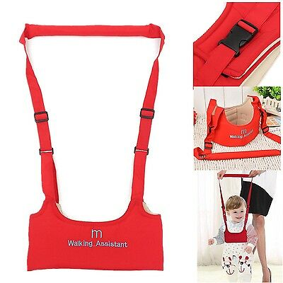 Baby Toddler Walking Wing Belt Safety Harness Strap Walk Assistant - NEW RED