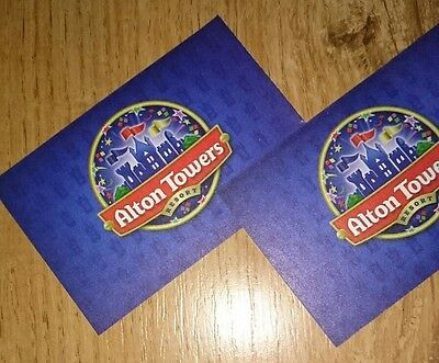 Alton Towers tickets - X2 for Monday 24th July 2017 (great for summer holidays)