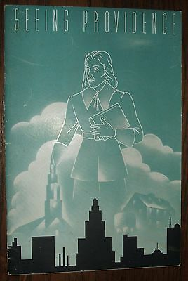 Vinatge Circa 1951 Seeing Providence Founded by Roger Williams 1636 Guide Book