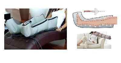 Device 4 Cells Pressotherapy+Boots+Arm Medical Aesthetics Drainage Kine